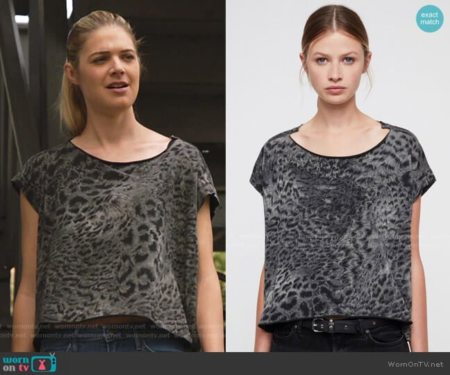 Paw Pina Tee by All Saints worn by Tami Tamietti (Kate Miner) on Shameless