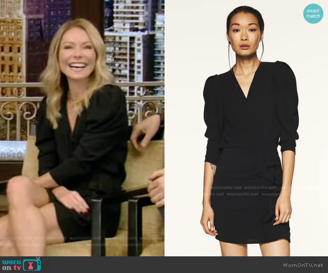 Melinda Dress by Ba&Sh worn by Kelly Ripa  on Live with Kelly & Ryan