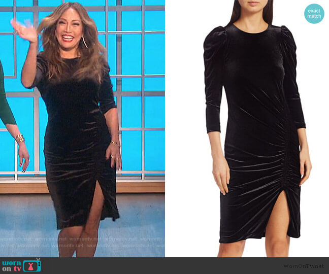 Lily Dress by Bailey 44 worn by Carrie Inaba  on The Talk