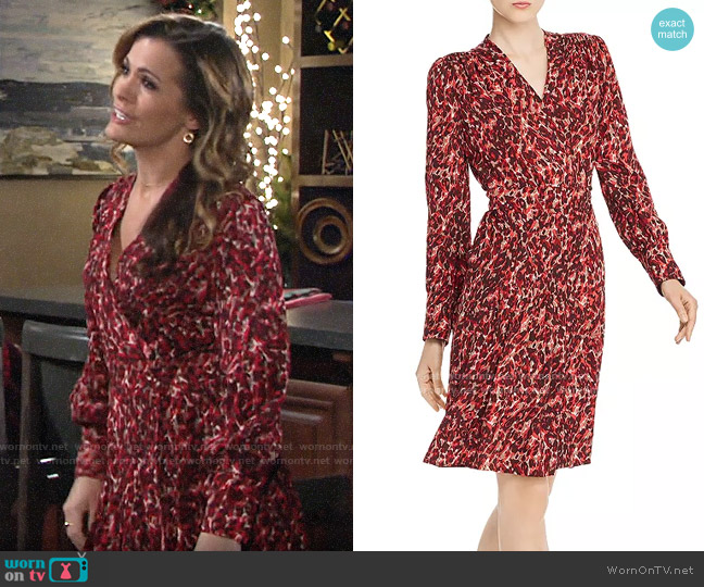 Equipment Jenesse Dress worn by Chelsea Lawson (Melissa Claire Egan) on The Young & the Restless