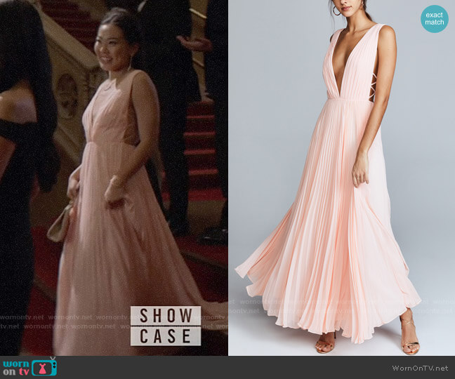 Fame and Partners The Allegra Dress worn by Mary Hamilton (Nicole Kang) on Batwoman