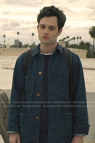 Joe's denim jacket on You