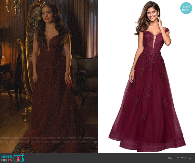 La Femme #27503 Gown worn by Maggie Vera (Sarah Jeffery) on Charmed