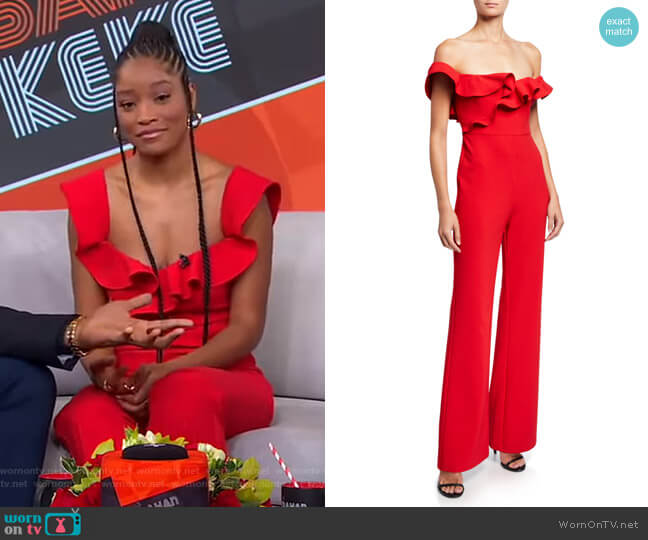 Miller Jumpsuit by Likely worn by Keke Palmer  on Good Morning America