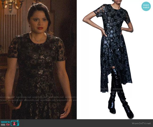 Maje Rizia Dress worn by Mel Vera (Melonie Diaz) on Charmed