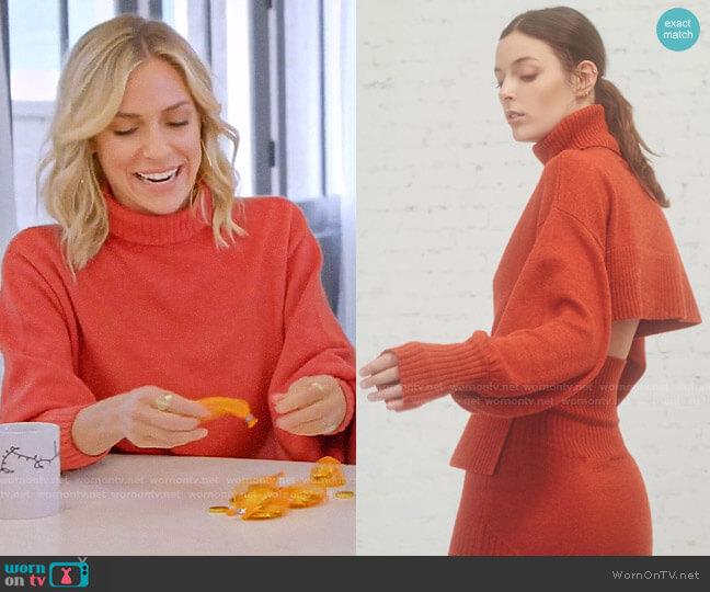 Marissa Webb Sloan Sweater worn by Kristin Cavallari  on Very Cavallari