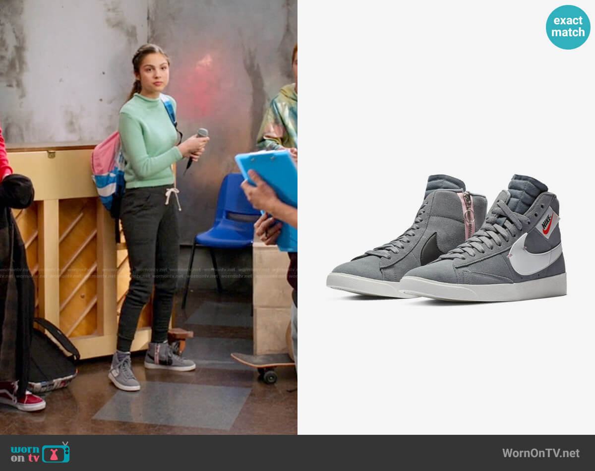 Nike Blazer Mid Rebel Sneakers worn by Nini (Olivia Rodrigo) on High School Musical The Musical The Series