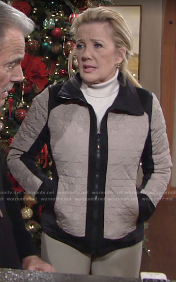 Nikki's riding jacket on The Young and the Restless