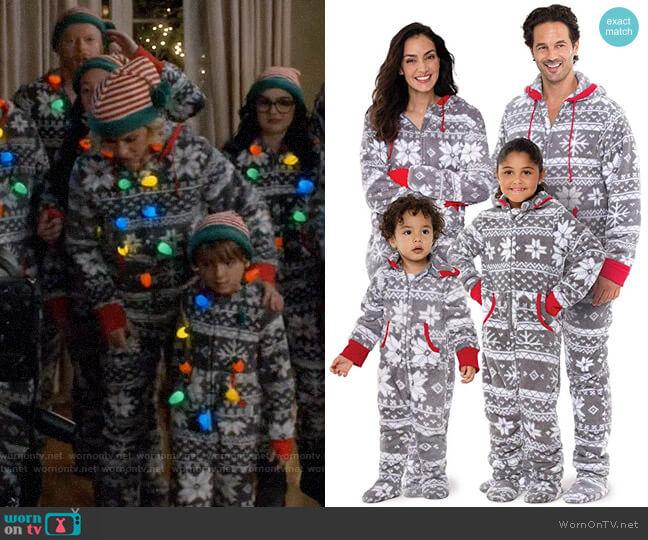 Pajamagram Nordic Fleece Christmas Onesie