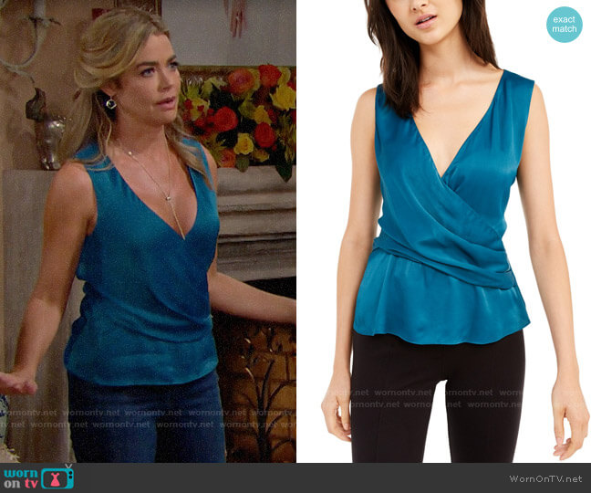 Rachel Zoe Cameo Top worn by Shauna Fulton (Denise Richards) on The Bold & the Beautiful