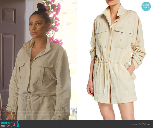 Boa Jumpsuit by Rag & Bone worn by Stella Cole (Shay Mitchell) on Dollface