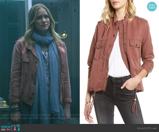 Collins Utility Jacket by Rails worn by Guinevere Beck (Elizabeth Lail) on You