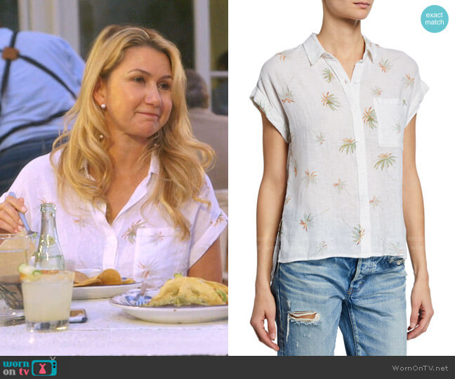 Whitney Top by Rails worn by Kary Brittingham  on The Real Housewives of Dallas