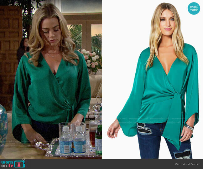 Ramy Brook Cassandra Top worn by Shauna Fulton (Denise Richards) on The Bold & the Beautiful