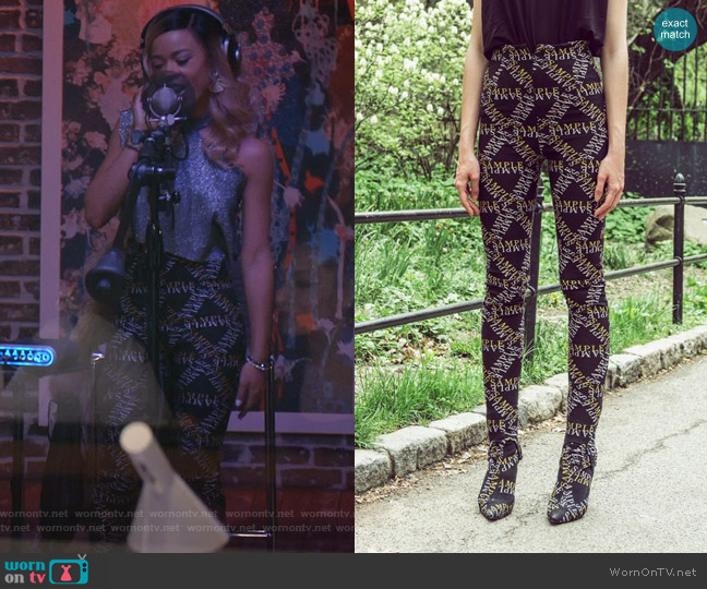 SS 2019 Collection by Sample worn by Tiana Brown (Serayah McNeill) on Empire