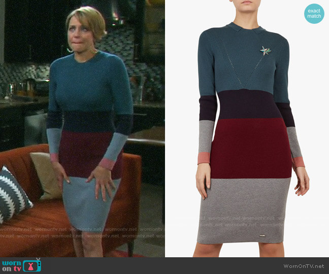 Ted Baker Franae Dress worn by Nicole Walker (Arianne Zucker) on Days of our Lives