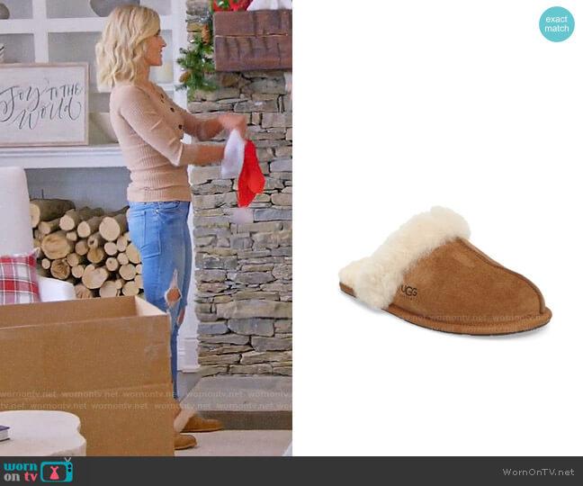 Ugg Scuffette II Slipper worn by Kristin Cavallari  on Very Cavallari