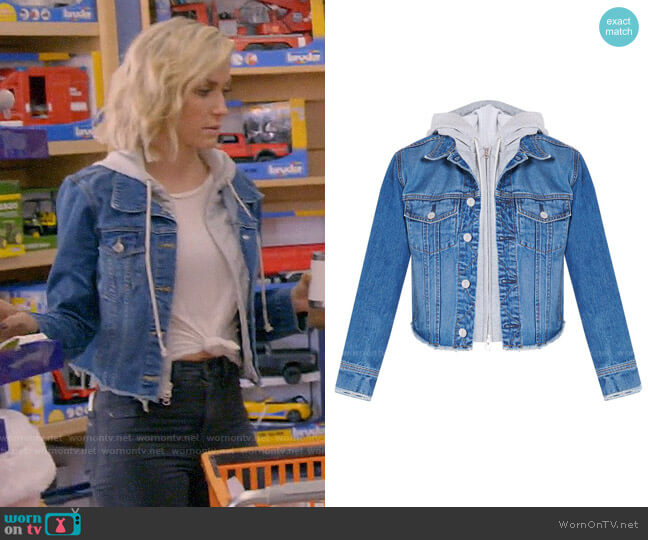 Veronica Beard Cara Jean Jacket worn by Kristin Cavallari  on Very Cavallari
