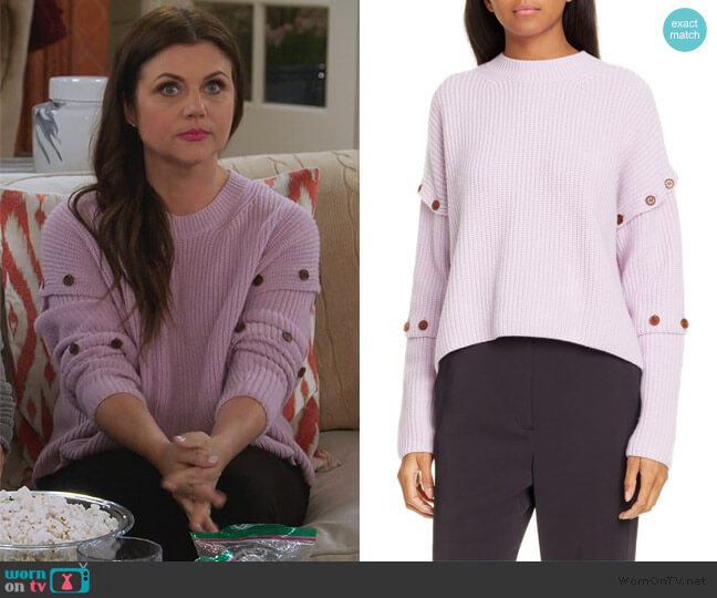 Adams Sweater by A.L.C. worn by Lori Mendoza (Tiffani Thiessen) on Alexa & Katie