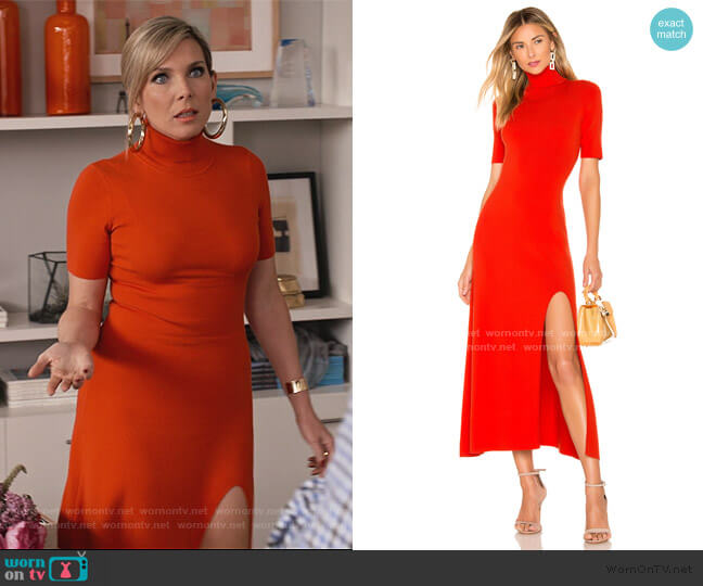 Caplan Dress by A.L.C. worn by Brianna (June Raphael) on Grace & Frankie