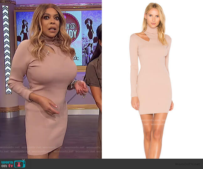 West Dress by A.L.C. worn by Wendy Williams  on The Wendy Williams Show