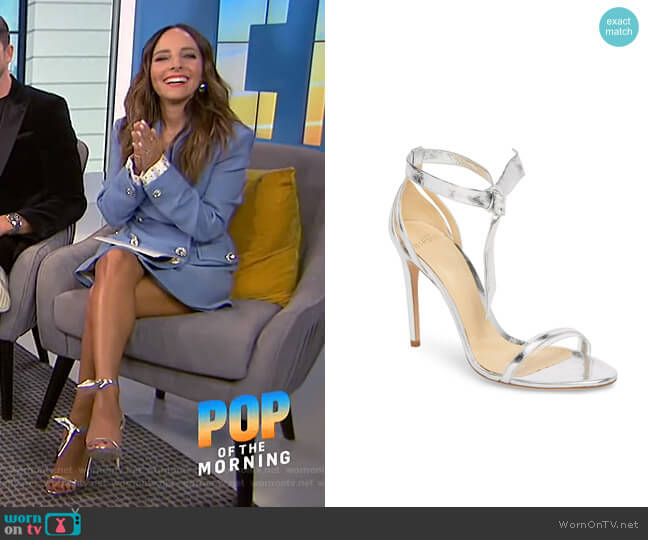Clarita Sandals by Alexandre Birma  worn by Lilliana Vazquez  on E! News