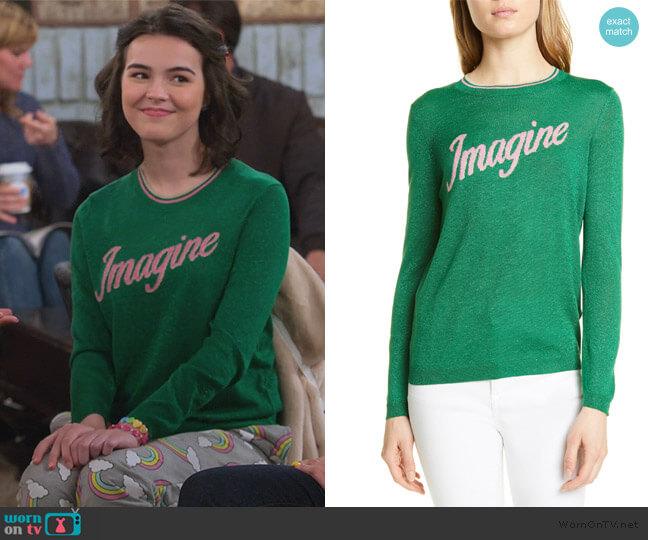 Loui Imagine Sweater by Ba&sh worn by Hannah (Merit Leighton) on Alexa & Katie