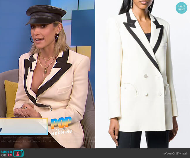 Resoult Fitted Blazer by Blaze Milano worn by Kristin Cavallari on E! News