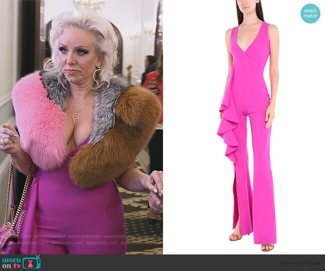 Jumpsuit by Chiara Boni La Petite worn by Margaret Josephs  on The Real Housewives of New Jersey