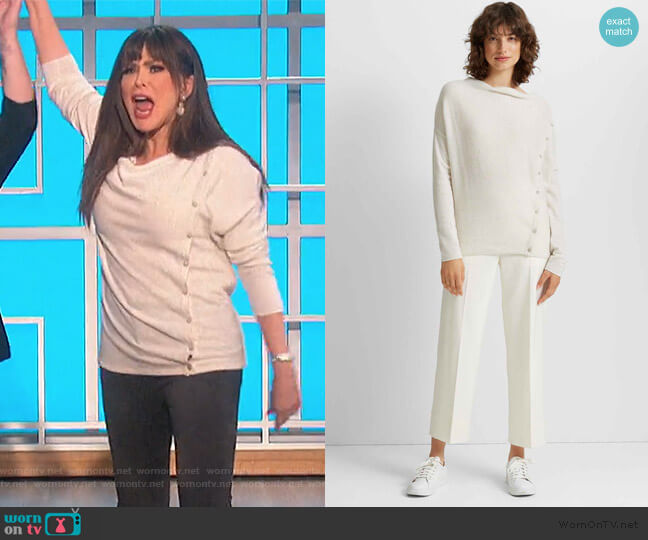 Simisola Cashmere Sweater by Club Monaco worn by Marie Osmond  on The Talk