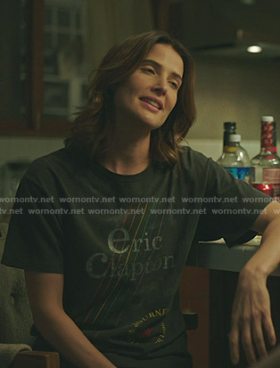 Dex's Eric Clapton Concert tee on Stumptown