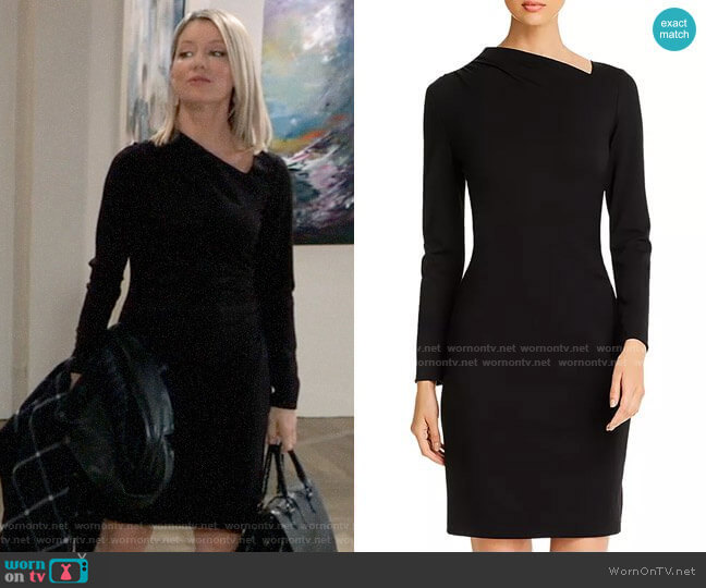 Elie Tahari Mozelle Dress worn by Nina Reeves (Cynthia Watros) on General Hospital