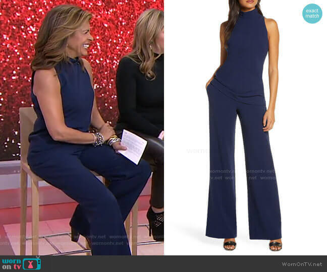 Gardenia Two-Piece Jumpsuit by Black Halo worn by Hoda Kotb  on Today