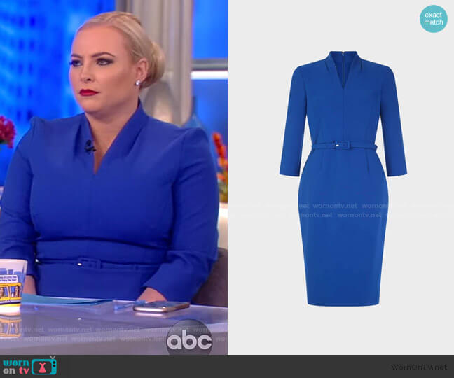 Dianna Dress by Hobbs worn by Meghan McCain  on The View