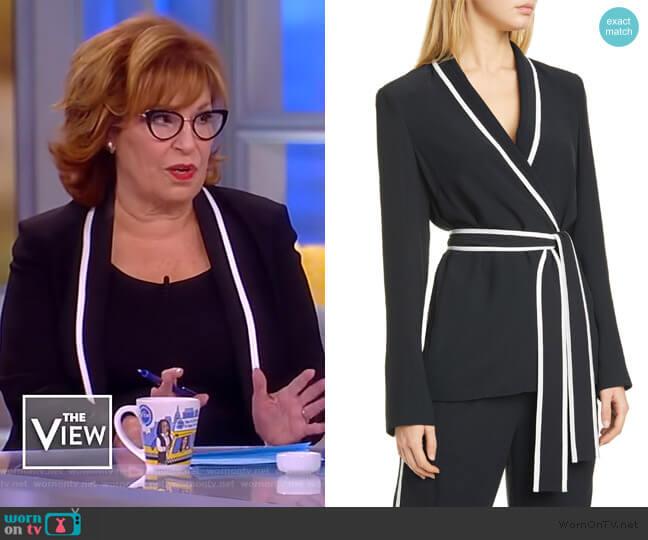 Belted Tuxedo Jacket by La Ligne worn by Joy Behar  on The View