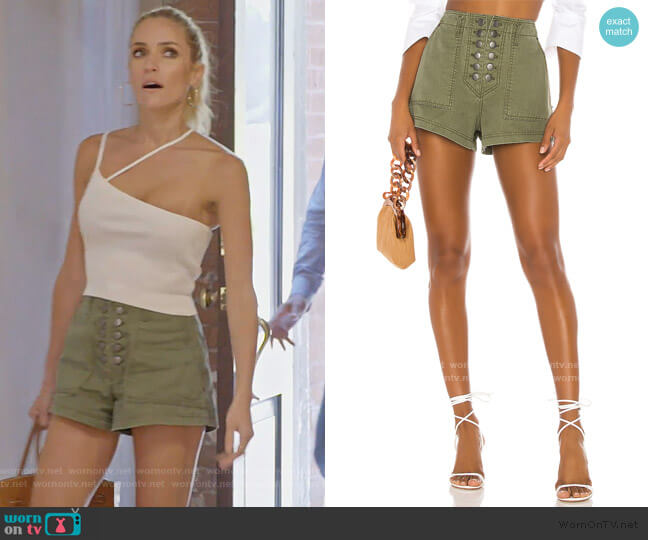 Stellan Shorts by Marissa Webb worn by Kristin Cavallari  on Very Cavallari