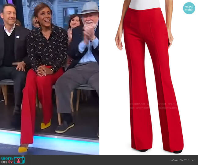 Flare Trousers by Michael Kors Collection worn by Robin Roberts  on Good Morning America