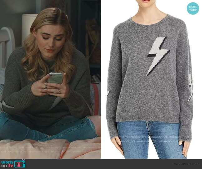 Virgo Lightning Sweater by Rails worn by Taylor Otto (Meg Donnelly) on American Housewife