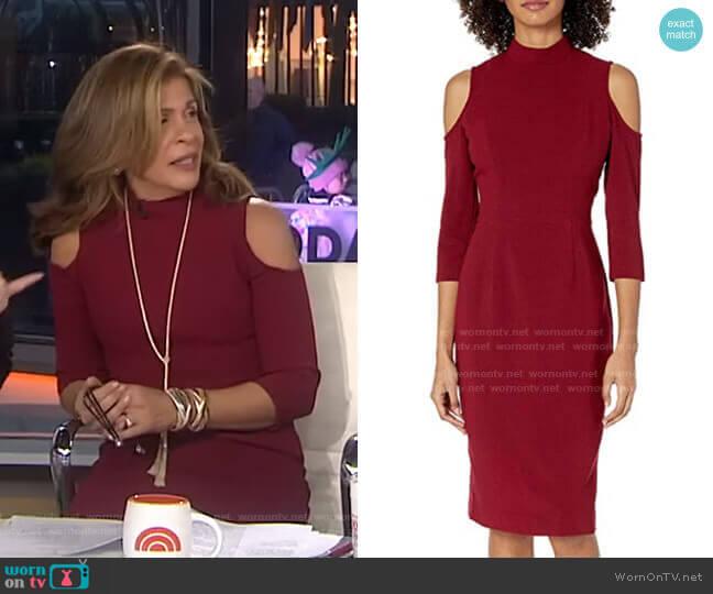 Sergia Sheath Dress by Black Halo worn by Hoda Kotb  on Today