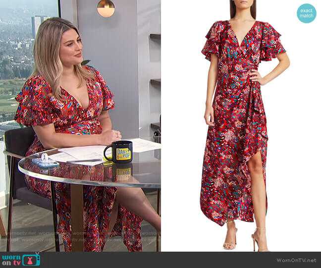 Clementine Dress by Tanya Taylor worn by Carissa Loethen Culiner  on E! News