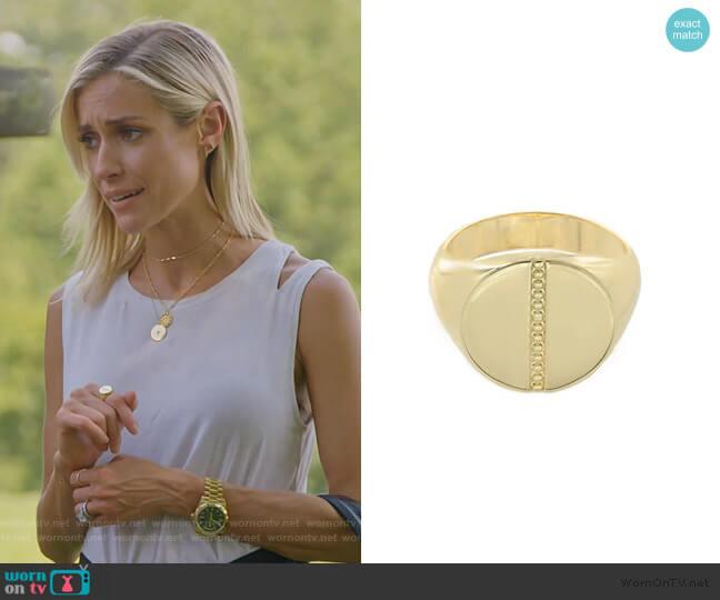 Chelsea Ring by Uncommon James worn by Kristin Cavallari  on Very Cavallari