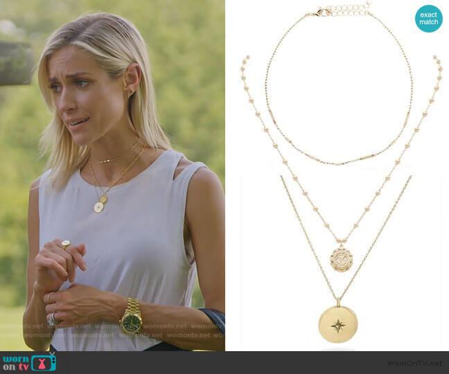 Ready to Mingle, Small Atocha, Starburst Necklace by Uncommon James worn by Kristin Cavallari  on Very Cavallari