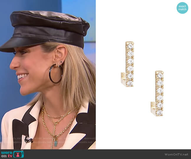 Ryman Earrings by Uncommon James worn by Kristin Cavallari on E! News