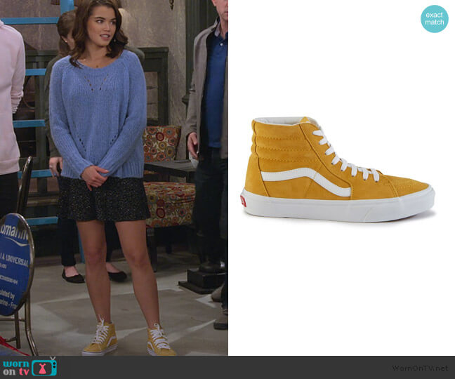 Sk8 Hi Trainers by Vans worn by Alexa Mendoza (Paris Berelc) on Alexa & Katie