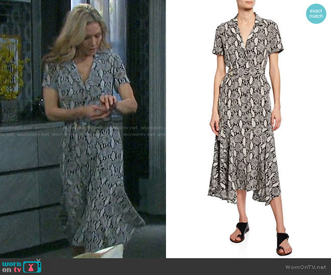 ALC Clarkson Dress worn by Kristen DiMera (Stacy Haiduk) on Days of our Lives