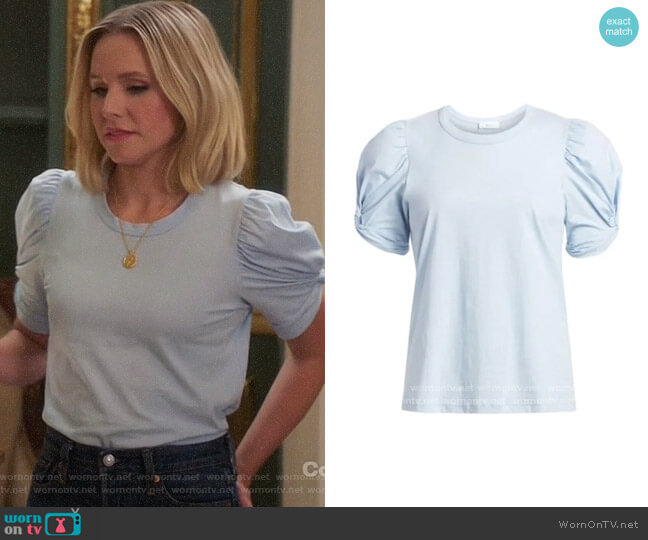 ALC Kati Tee worn by Eleanor Shellstrop (Kristen Bell) on The Good Place