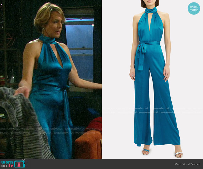 Alexis Jeika Jumpsuit worn by Nicole Walker (Arianne Zucker) on Days of our Lives