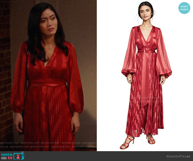 Alexis Salomo Dress worn by Joy (Jessica Lu) on God Friended Me