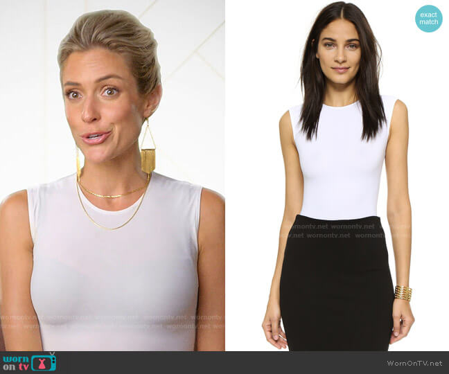 Alix Lenox Bodysuit worn by Kristin Cavallari  on Very Cavallari
