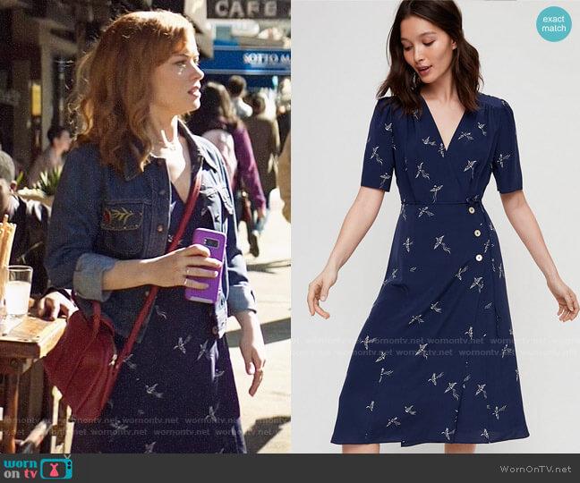 Aritzia Wilfred Mirabelle Dress worn by Zoey Clarke (Jane Levy) on Zoeys Extraordinary Playlist